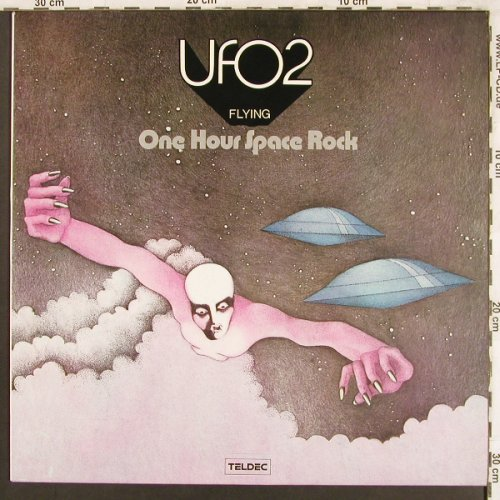 UFO 2: Flying-One hour Space Rock, Teldec(6.21438 BL), D, Ri, 1973 - LP - X3809 - 12,50 Euro