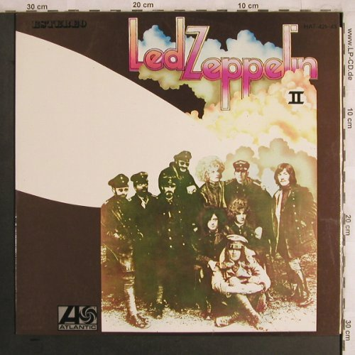Led Zeppelin: II, Atlantic(HAT 421-43), E (Spain), 1969 - LP - X4134 - 40,00 Euro