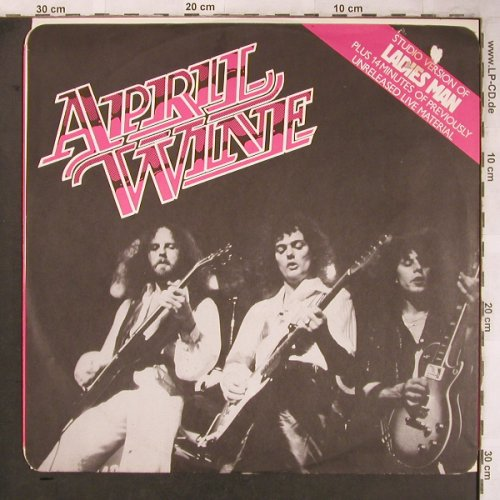 April Wine: Ladies Man +3, m-/vg+, Capitol(12CL 16164), UK, 1979 - 12inch - X4916 - 6,00 Euro