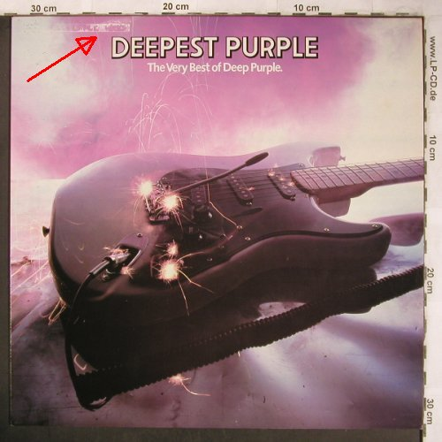 Deep Purple: Deepest Purple-The Very Best Of, Harvest(EMTV 25), UK,m-/vg+, 1980 - LP - X4933 - 9,00 Euro