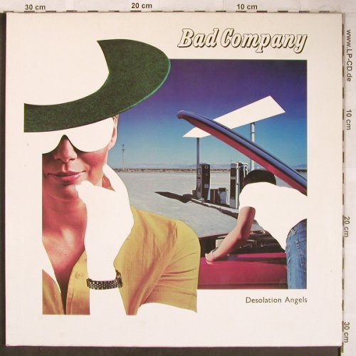 Bad Company: Desolation Angels, Foc, Swan Song(SS 59 408), D, 1979 - LP - X4944 - 6,00 Euro