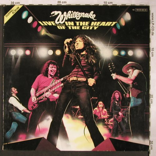 Whitesnake: Live..in The Heart Of The City, Liberty(164-83023/24), D, 1980 - 2LP - X4956 - 9,00 Euro