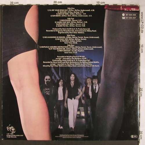 Gillan: Double Trouble,Foc, Virgin(301 804-406), D, 1981 - 2LP - X4958 - 9,00 Euro