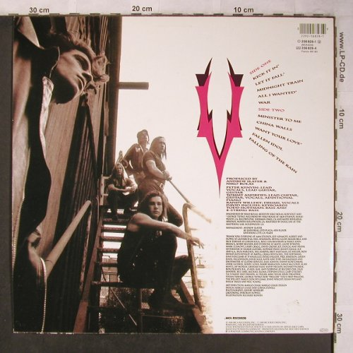 Voices (the Voices): Same, MCA(256 828-1), D, 1989 - LP - X5120 - 6,00 Euro