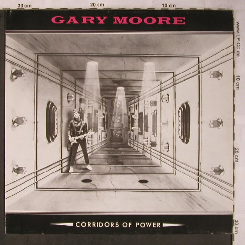 Moore,Gary: Corridors Of Power, Virgin(205 082-610), D, 1982 - LP - X5564 - 7,50 Euro
