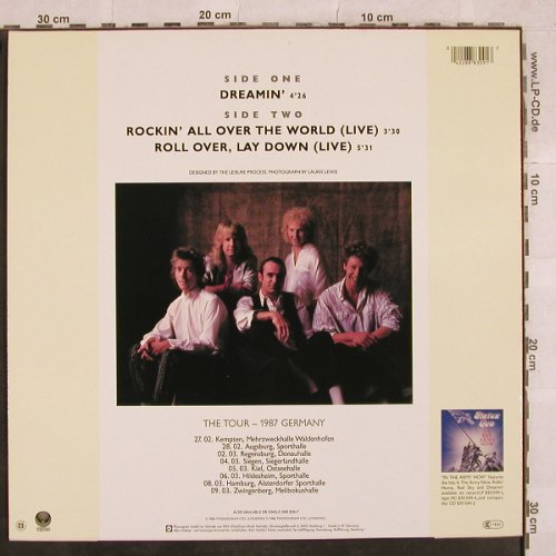 Status Quo: Dreamin'/Rocking all over../Roll ov, Vertigo(888 309-1), D, 1986 - 12inch - X577 - 3,00 Euro