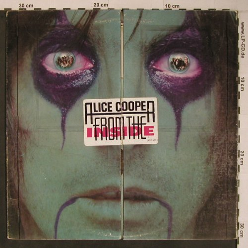 Cooper,Alice: From The Inside, vg+/VG+, Warner(WB 56577U/BSK32), D / US, 1978 - LPgx - X6713 - 12,50 Euro