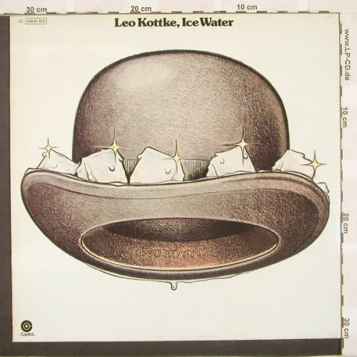 Kottke,Leo: Ice Water,Ri, Capitol(038-81 610), D, 74 - LP - A5015 - 5,00 Euro