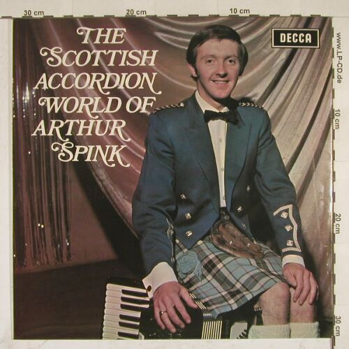 Spink,Arthur: The Scottish Accordion World Of, Decca(SPA 196), UK, 72 - LP - A7824 - 5,00 Euro