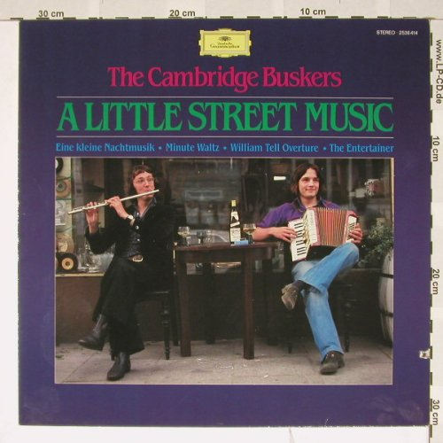 Cambridge Buskers: A Little Street Music, D.Gr.(2536 414), D, co, 81 - LP - B3531 - 5,00 Euro
