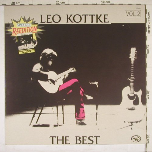 Kottke,Leo: The Best Vol.2, Ri, MFP(1850621), F, 77 - LP - B4405 - 4,00 Euro