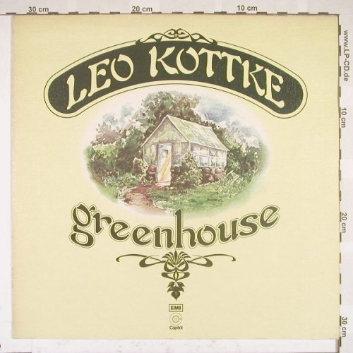 Kottke,Leo: Greenhouse, Capitol(E-ST 11000), UK, 76 - LP - B5337 - 7,50 Euro
