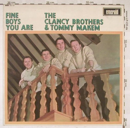 Clancy Bros. & T.Makem: Fine Boys You Are, Emerald(SLD 25), UK, 67 - LP - B5473 - 9,00 Euro