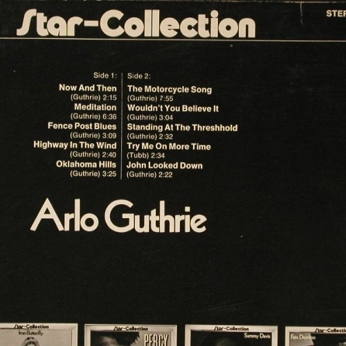 Guthrie,Arlo: Star-Collection, Ri, Midi(MID 24 003), D, 72 - LP - B8650 - 4,00 Euro