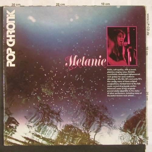 Melanie: Pop Chronik, Foc, ABC(27 436 XCT), D,  - 2LP - C4229 - 7,50 Euro