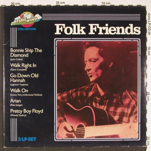 V.A.Folk Friends: 27 Tr.,Foc, m-/vg+, Time Wind(DB / 501 40), D,  - 2LP - C9075 - 6,00 Euro