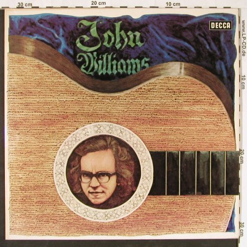 Williams,John: Gitarre,Foc, Decca(6.48029 DX), D, 1972 - 2LP - E1104 - 7,50 Euro