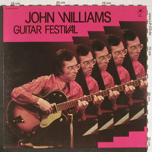 Williams,John: Guitar Festival(72), DSC, Ri, Cube(31 596), D, 1980 - LP - E353 - 5,00 Euro
