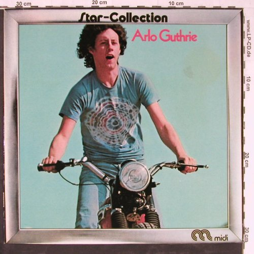 Guthrie,Arlo: Star-Collection,Warenprobe,Promo, Midi(MID 24003), D, 1972 - LP - E3773 - 9,00 Euro