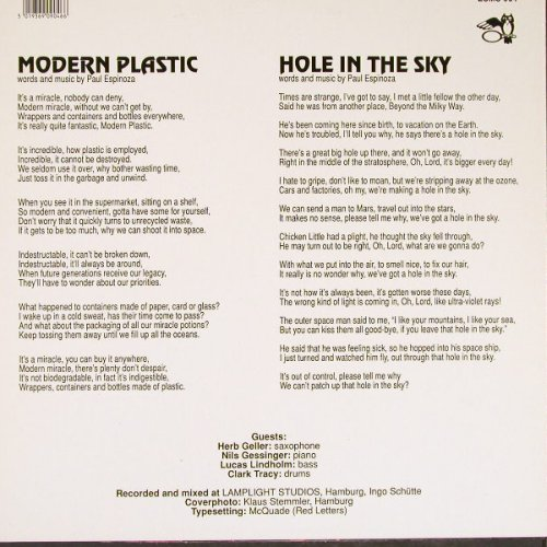 Golden Bough: Modern Plastic/Hole In The Sky, Eulenspiegel(EUMS 904), D,  - 12inch - E4757 - 2,50 Euro