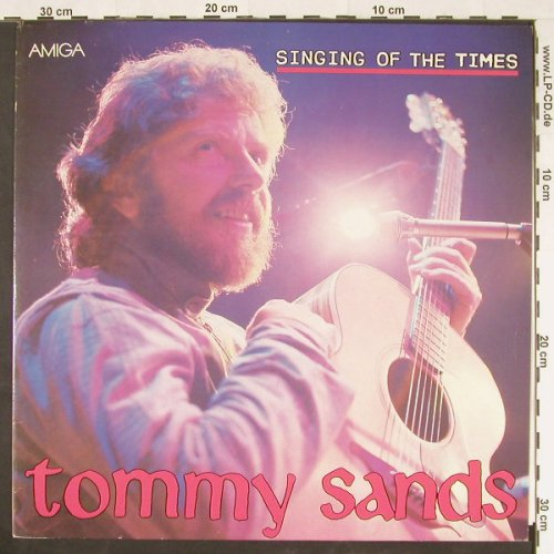 Sands,Tommy: Singing Of The Times, Amiga(8 56 272), DDR, 1987 - LP - E593 - 5,00 Euro