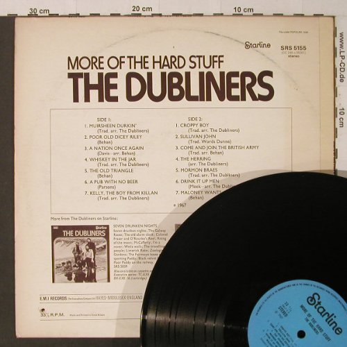 Dubliners: More Of The Hard Stuff, Ri, Co, Starline(SRS 5155), F, 1967 - LP - F4540 - 5,00 Euro