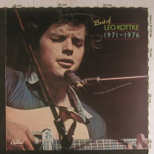 Kottke,Leo: Best Of 1971-1976, Capitol(054-85 056), UK,  - LP - F5889 - 4,00 Euro
