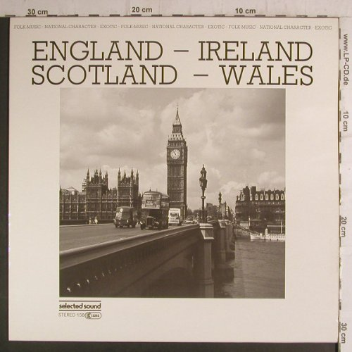 V.A.England-Ireland-Scotland-Wales: Paddy's Polka.. Drunken Backpipers, SelectedS.(158), D, 1983 - LP - F6846 - 5,00 Euro