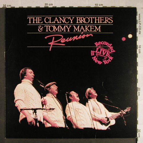 Clancy Brothers & Tommy Makem: Reunion-rec.Live in N.Y., Ogham/CBS(BLB 5009), UK, 1984 - LP - H1051 - 6,00 Euro