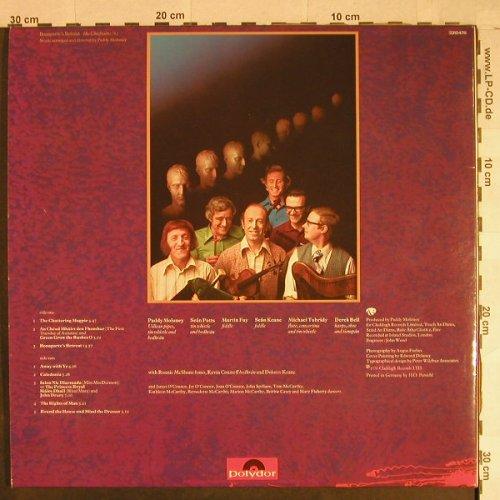 Chieftains: Bonaparte's Retreat,Foc, Polydor(2310 478), D, 1976 - LP - H1052 - 7,50 Euro