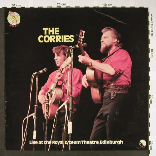 Corries: Live at the Royal Lyceum..Edinburgh, EMI / Note(NTS 109), UK,m-/vg+, 1971 - LP - H1564 - 6,00 Euro