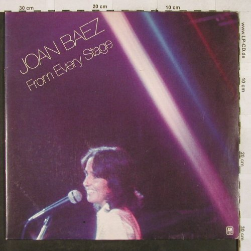 Baez,Joan: From Every Stage, Foc, AM(89 852 XCT), NL, 1976 - 2LP - H3245 - 6,00 Euro
