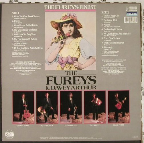 Fureys,The & Davey Arthur: The Fureys Finest, Ri, Teldec(6.26808 AP), D, 1988 - LP - H3722 - 6,50 Euro