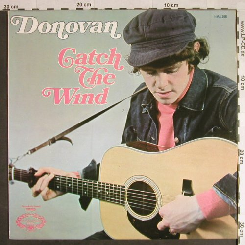Donovan: Catch The Wind, Hallmark(HMA 200), UK, Ri, 1965 - LP - H383 - 5,00 Euro