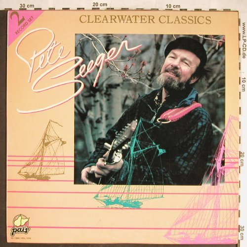 Seeger,Pete: Clearwater Classics, CBS/Paix(P217865/PDL1076), US, Ri, 1984 - 2LP - H5658 - 7,50 Euro