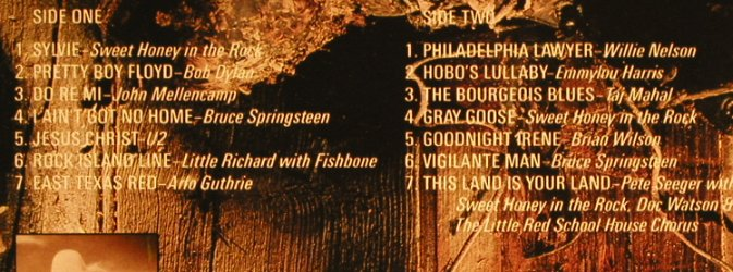 V.A.A Vision Shared: A tribute to Woody Guthrie&Leadbel, CBS,Facts(CBS 460905 1), NL, Foc, 1988 - LP - H6643 - 5,00 Euro