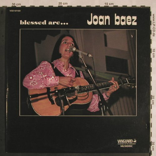 Baez,Joan: Blessed Are..,Foc, Vanguard(VSD 67/68), F, 1970 - 2LP - X1114 - 7,50 Euro