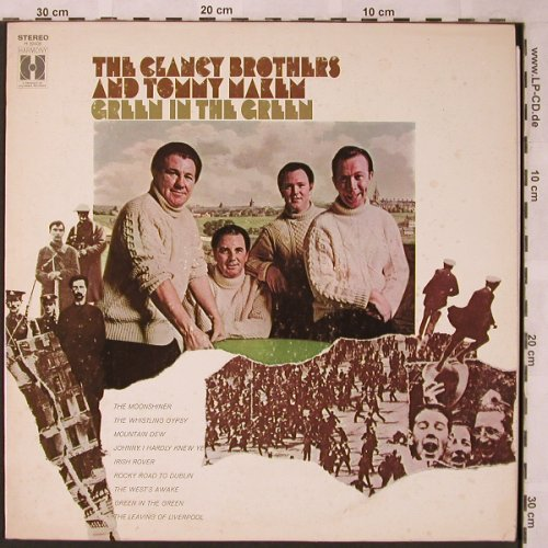 Clancy Brothers & Tommy Makem: Green in the Green, Harmony(H 30408), US,  - LP - X2016 - 7,50 Euro