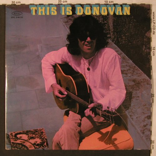 Donovan: This Is Donovan, Foc, Epic(S 66 251), NL, Ri, 1974 - 2LP - X2866 - 9,00 Euro