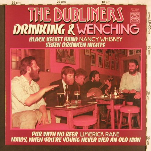 Dubliners: Drinking & Wenching, MFP(50245), UK,  - LP - X3762 - 5,50 Euro