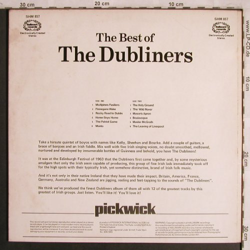 Dubliners: The Best Of, Hallmark(SHM 857), UK,  - LP - X4325 - 5,00 Euro