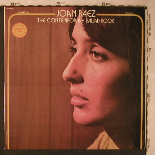 Baez,Joan: The Contemporary Ballad Book, Foc, Vanguard(VSD 49/50), F, 1974 - 2LP - X5682 - 9,00 Euro