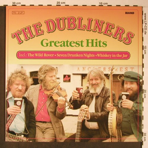 Dubliners: Greatest Hits, Sound(66362 5), NL, 1989 - 2LP - X5951 - 7,50 Euro