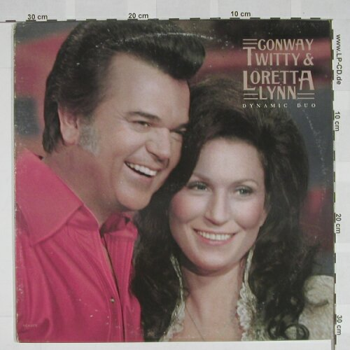 Twitty,Conway & Loretta Lynn: Dynamic Duo, MCA(MCA-2278), US, 77 - LP - A5098 - 7,50 Euro