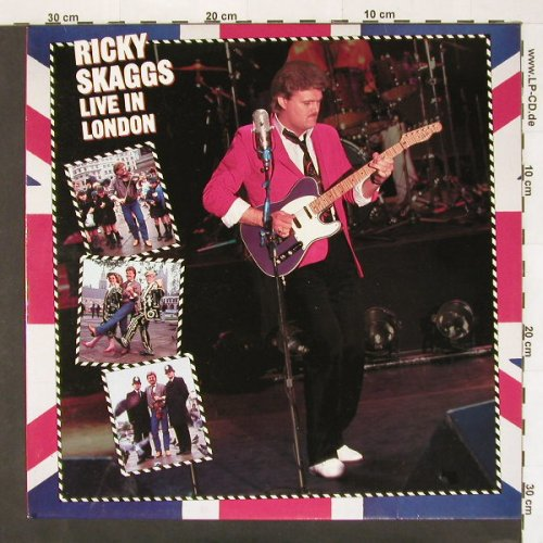 Skaggs,Ricky: Live In London, Epic(EPC 26 618), NL, 85 - LP - A6263 - 6,00 Euro