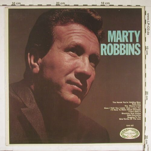 Robbins,Marty: Same, Hallmark(HM 662), UK, 70 - LP - A7331 - 4,00 Euro