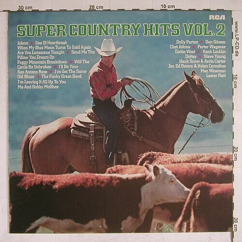 V.A.Super Country Hits Vol.2: 12 Tr., RCAorange(CL 42845), D, 79 - LP - A8188 - 4,00 Euro