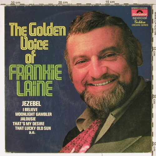 Laine,Frankie: The Golden Voice of, m-/vg+, Polyd.(2343 078), NL, 70 - LP - B3576 - 3,00 Euro