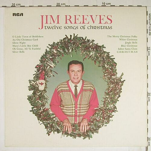 Reeves,Jim: Twelve Songs Of Christmas, Ri, RCA(26.21203 AF), D, 1964 - LP - B439 - 5,00 Euro