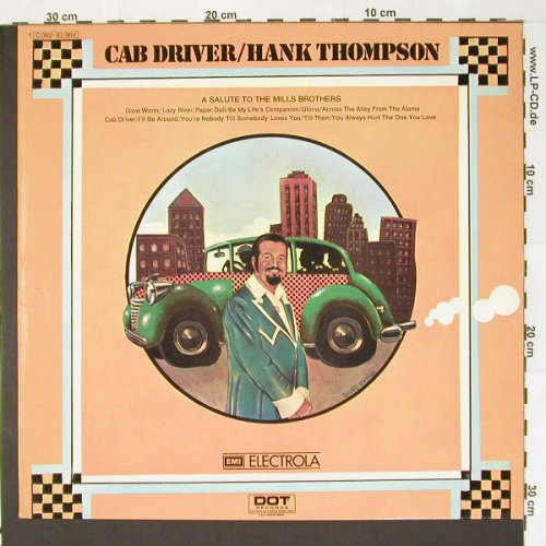 Thompson,Hank: Cab Driver, DOT(C 062-93 964), D, 72 - LP - B8125 - 15,00 Euro